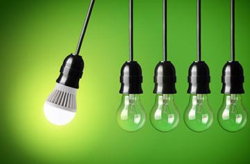 6 vantagens das lâmpadas LED